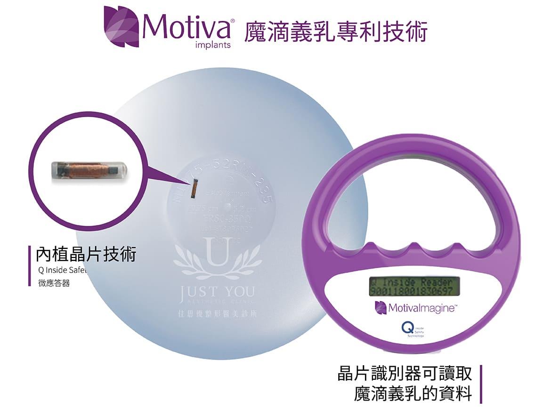 魔滴義乳可透過掃描器讀取義乳的辨識碼
