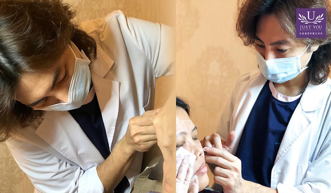 薛乃維醫師注射艾麗斯聚雙旋乳酸