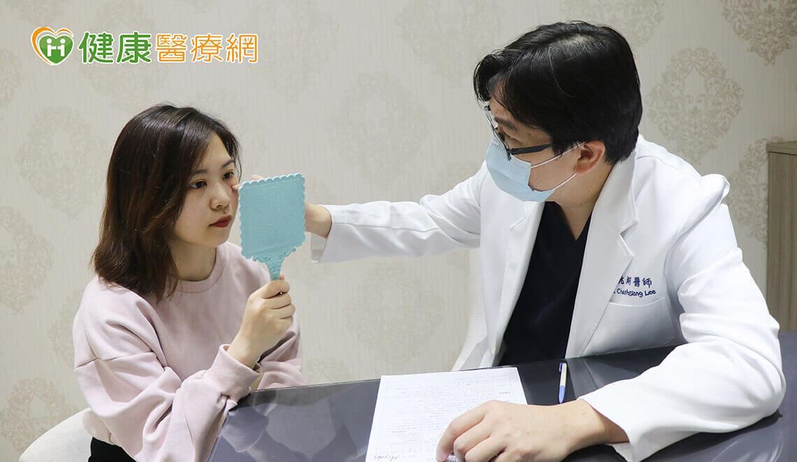 佳思优整形医美诊所李兆翔医师建议动态纹可打肉毒杆菌素预防发展成静态纹