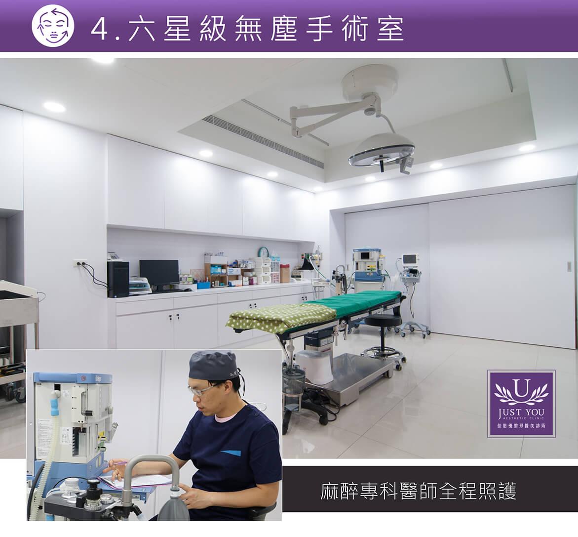 拉皮過程麻醉醫師全程照護