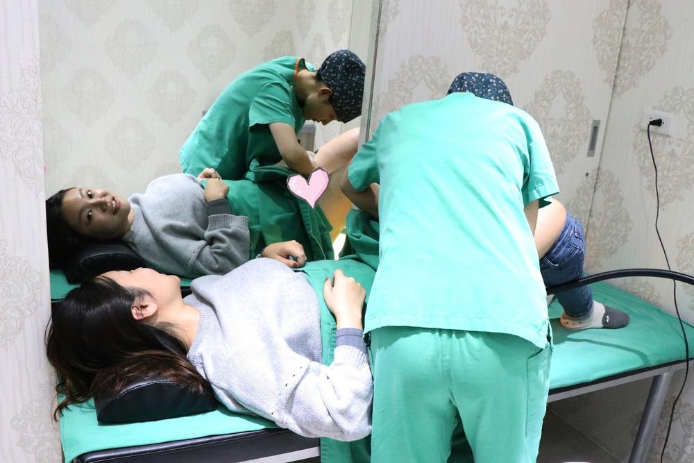 Laura痔瘡手術術後回診檢視
