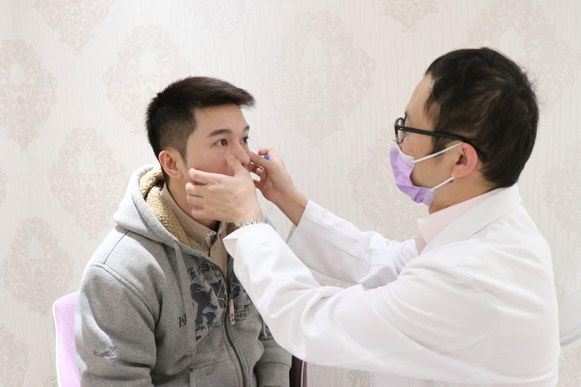 潘冠志玻尿酸隆鼻前諮詢