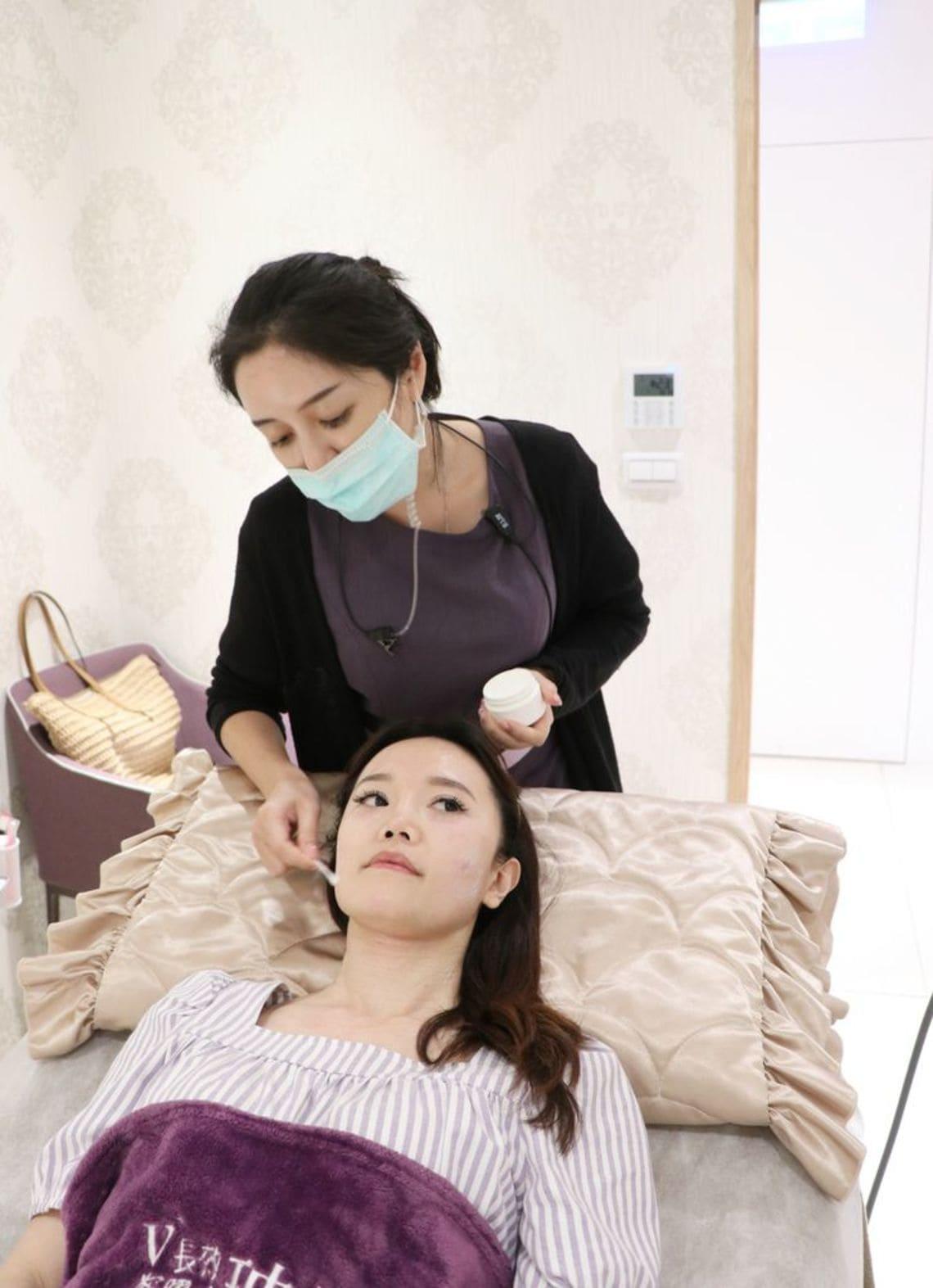 海芙音波術後,使用專用面膜